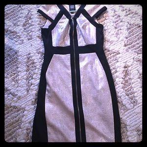 Jax Gold and Black Dress